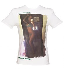 Men's White Hurry Home Fashion T-Shirt from Amplified Pin-Ups [View details]