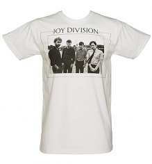 Men's White Joy Division Photographic T-Shirt [View details]