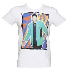 Men's White Life Magazine US Sitcom Icon Cover 80's T-Shirt [View details]