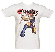 Men's White Lion-O Thundercats T-Shirt