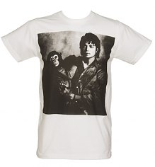Men's White Michael Jackson And Bubbles T-Shirt [View details]