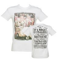 Men's White Pat Sharp And The Twins Fun House T-Shirt