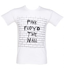 Men's White Pink Floyd The Wall T-Shirt [View details]