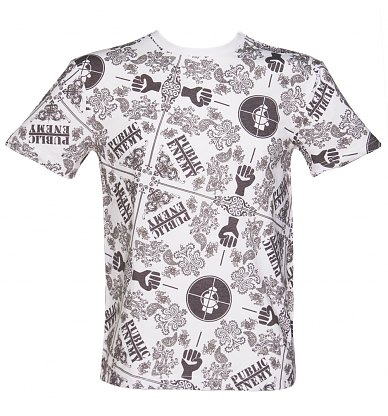 Public Enemy All Over Print T-Shirt