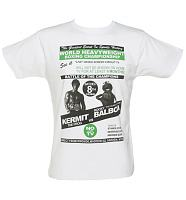 Men's White Rocky Vs Kermit T-Shirt from To The Black