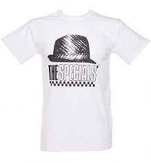 Men's White Specials Hat T-Shirt [View details]