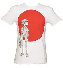 Men's White The Gorillaz Empire Ants T-Shirt from Amplified Vintage [View details]