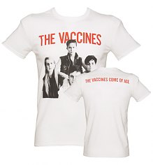Men's White Vaccines T-Shirt [View details]