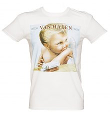 Men's White Van Halen 1984 T-Shirt [View details]