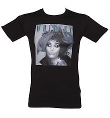 Men's Whitney Houston Scarf T-Shirt [View details]
