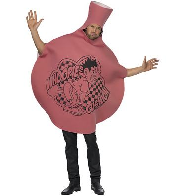 Men's Whoopie Cushion Fancy Dress Costume