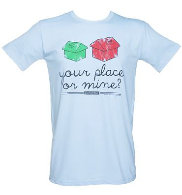 Men's Your Place Or Mine Monopoly T-Shirt
