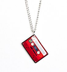 Mini Mix Tape Necklace from Punky Pins [View details]