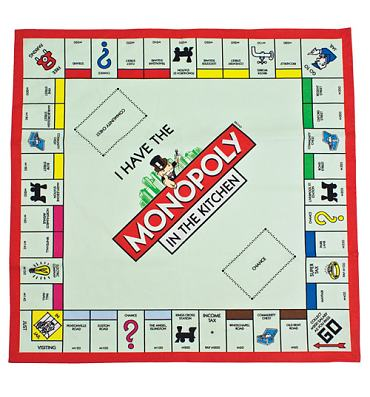 Monopoly Board Tea Towel