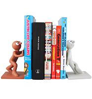 Morph and Chas Book Ends