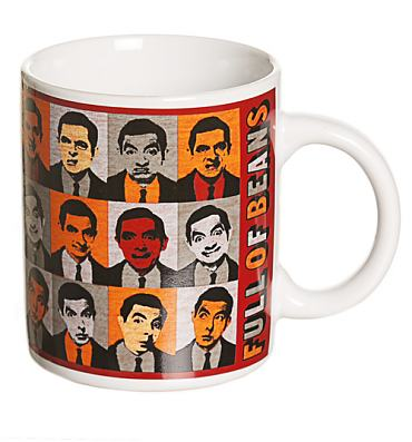 Mr Bean Full Of Beans Mug