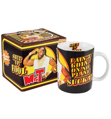 Mr T Shut Up Fool Mug