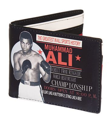 Muhammad Ali Boxing Match PU Wallet