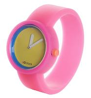 Neon Pink Watch from O Clock