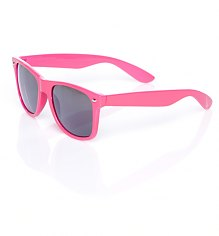 Neon Pink Wayfarer Sunglasses [View details]