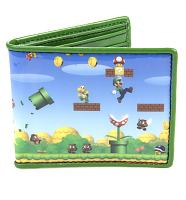 Nintendo Super Mario Brothers Printed Wallet