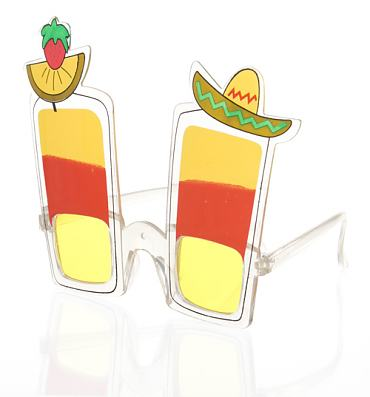 Novelty Tequila Shot Sunglasses