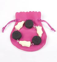 Oreo And Milk Bottles Bracelet from Bits and Bows