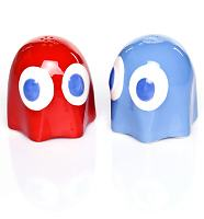 Pac-Man Ghost Salt And Pepper Pots
