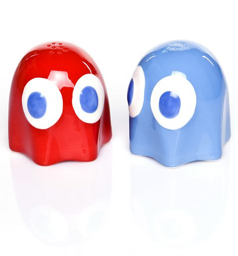 Pac-Man Salt and Pepper Pots
