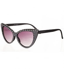 Pearl Detail Isabella 50's Style Retro Sunglasses from Jeepers Peepers [View details]