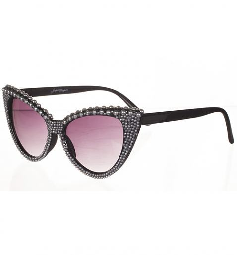 Pearl Detail Isabella 50'S Style Retro Sunglasses<br /> from Jeepers Peepers