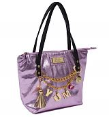 Pink Barbie Shopper Bag with Charms from Clippy London