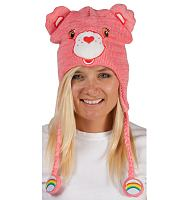 Pink Cheer Bear Care Bears Laplander Hat