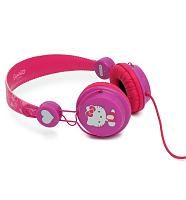 Pink Hello Kitty Glitter Headphones from Coloud