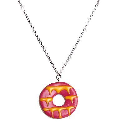 Pink Party Ring Necklace from Bits and Bows