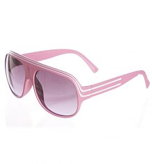 Pink Retro Millionaire Aviator Sunglasses [View details]
