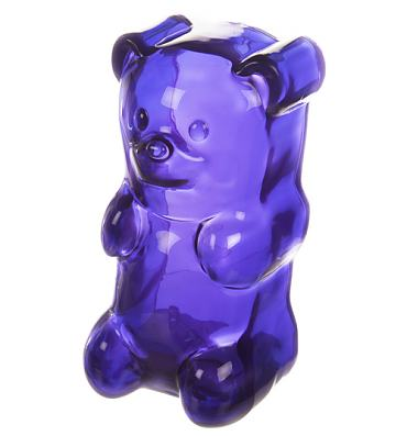 Purple Gummy Bear Nightlight Lamp