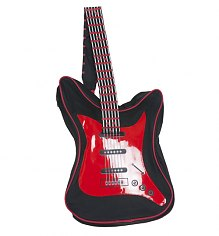 Red And Black Electric Guitar Backpack [View details]