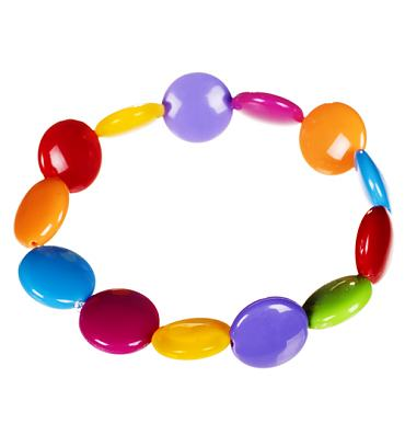 Retro Beaded Smartie Bracelet from ShmooBamboo