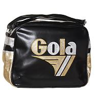 Retro Black And Gold Metallic Redford Bag from Gola