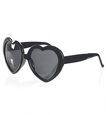 Retro Black Heart Sunglasses from Punky Pins [View details]
