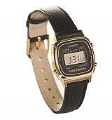 Retro Black Strap Digital Watch from Casio