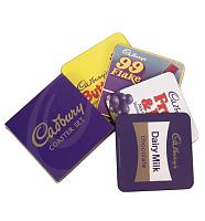 Retro Cadburys Chocolate Bar Set Of 4 Coasters