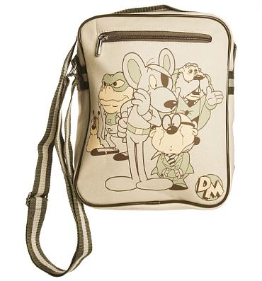 Retro Canvas Danger Mouse Characters Flight Bag