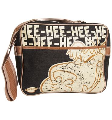 Retro Canvas Muttley He He He Hanna Barbera Messenger Bag