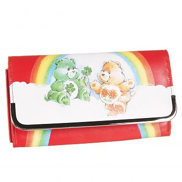 Retro Care Bears PU Wallet