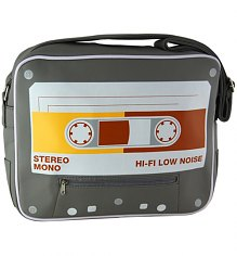 Retro Cassette Messenger Bag [View details]