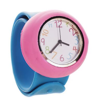 Retro Colours Analogue Slap Wrist Watch from Chelsea Doll