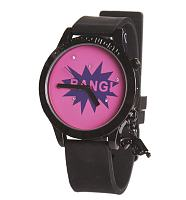 Retro Comic Pop Watch With Charm from Helen Rochfort