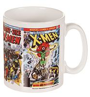 Retro Comic Strip Print X-Men Marvel Mug